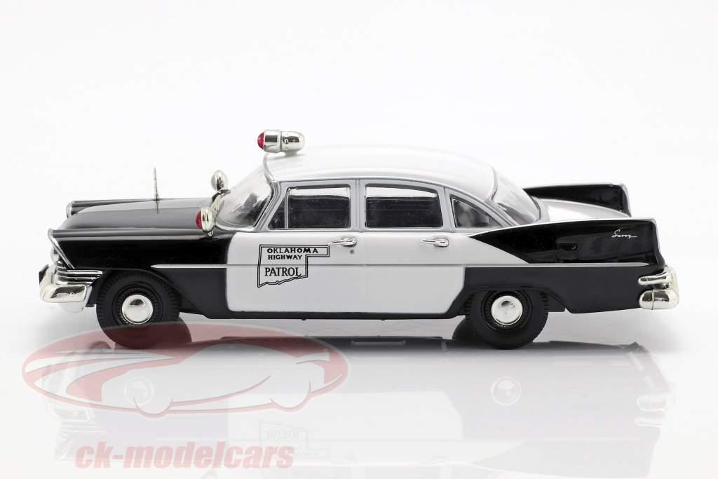 Plymouth Savoy Oklahoma Highway Patrol black / white in Blister 1:43 Altaya