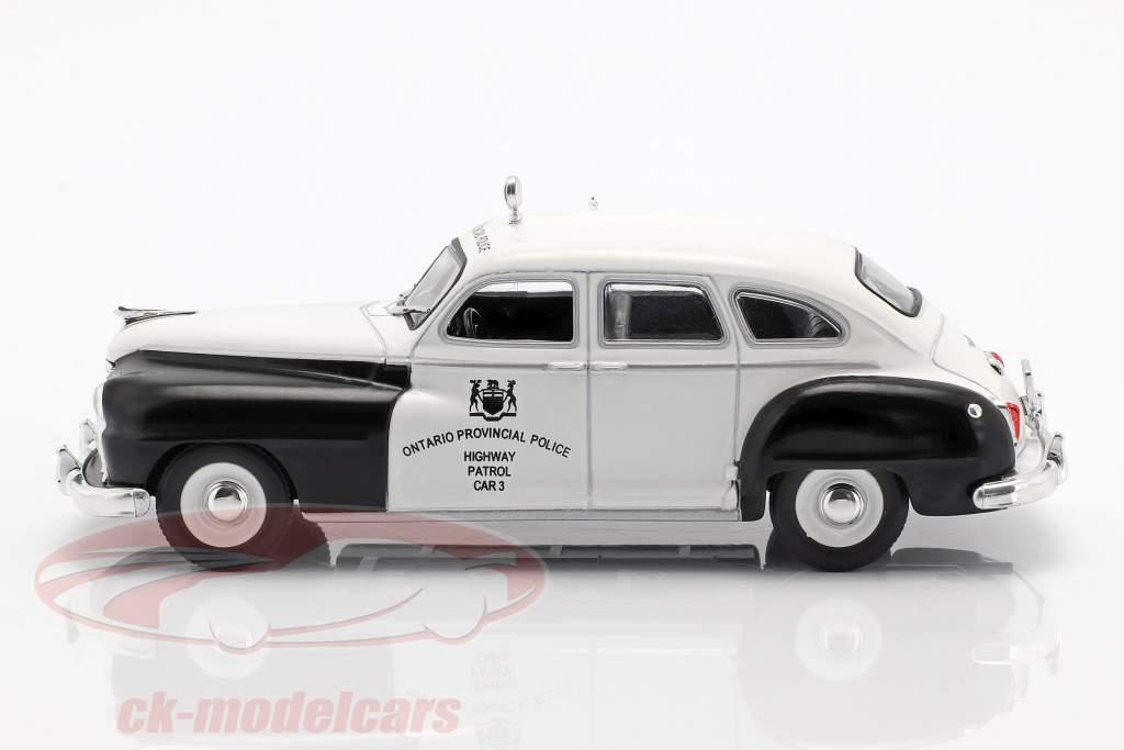 Chrysler De Soto Ontario Police weiß / schwarz in Blister 1:43 Altaya
