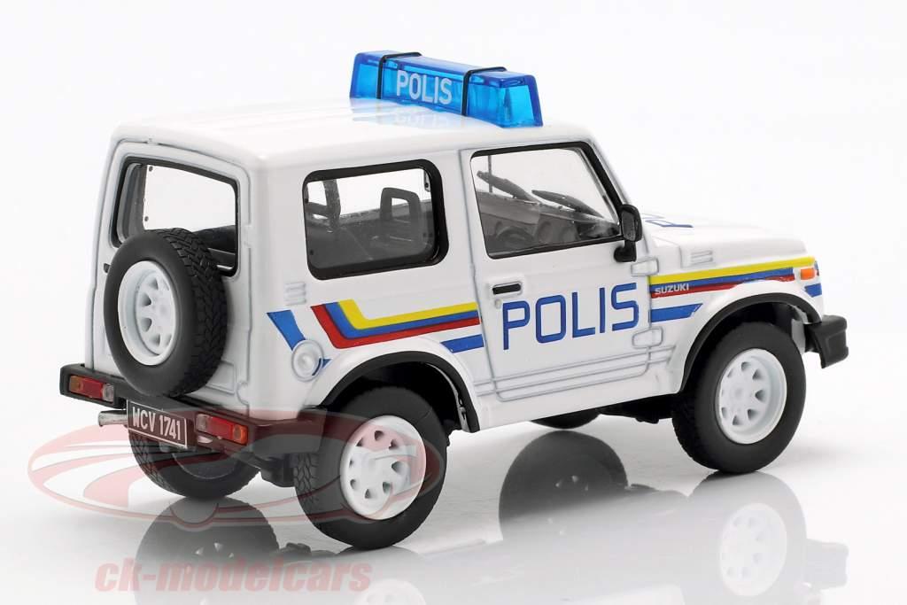 Suzuki Samurai polizia bianco in bolla 1:43 Altaya