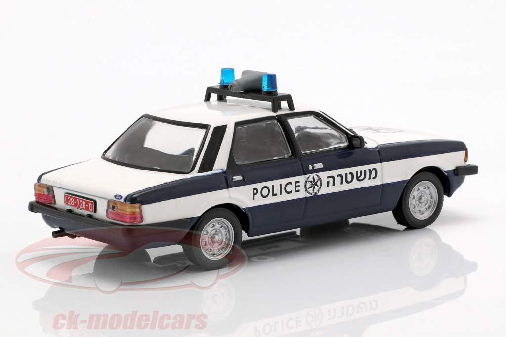 Ford Cortina MKV policy dark blue / white 1:43 Altaya