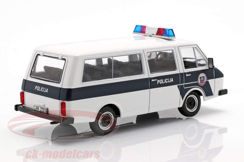 RAF-22038 Policija blanc / bleu 1:43 Altaya