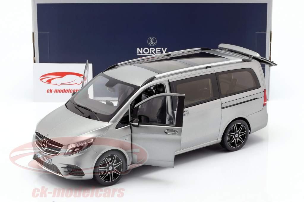Mercedes-Benz V-Class AMG-Line year 2018 grey metallic 1:18 Norev