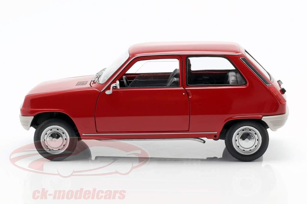 Renault 5 anno di costruzione 1972 rosso 1:18 Norev