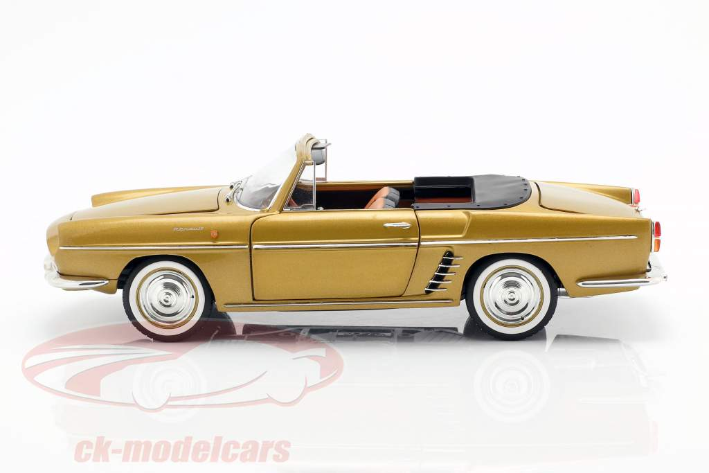 Renault Floride Construction year 1959 Bahamas yellow metallic 1:18 Norev