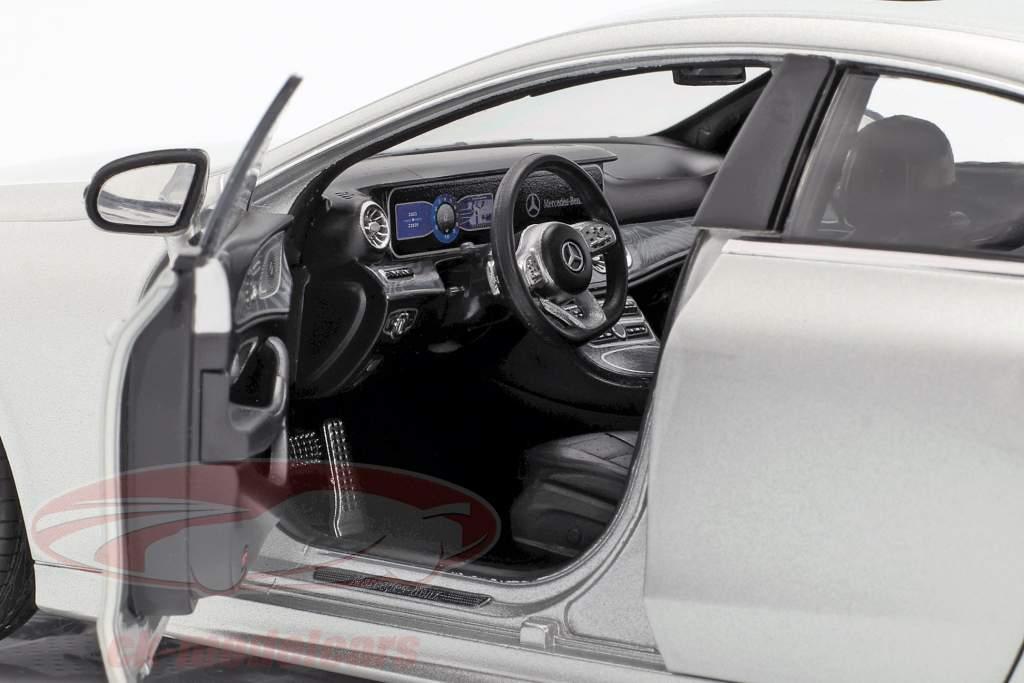 Mercedes-Benz CLS-Class (C257) built in 2018 silver 1:18 Norev