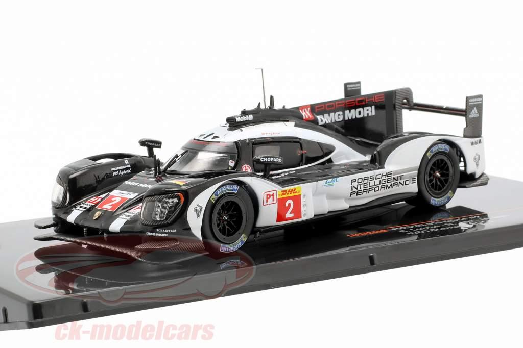 Porsche 919 Hybrid #2 WEC champion 2016 Dumas, Jani, Lieb 1:43 Ixo