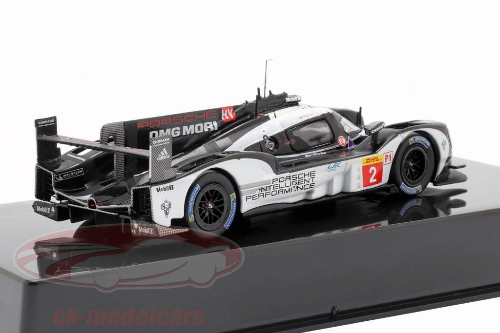 Porsche 919 Hybrid #2 WEC campeón 2016 Dumas, Jani, Lieb 1:43 Ixo