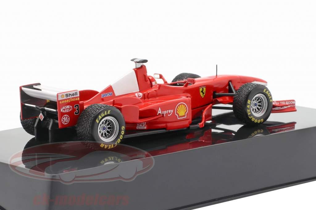 M. Schumacher Ferrari F300 Formule 1 1998 GP d' Angleterre 1:43 HotWheels Elite
