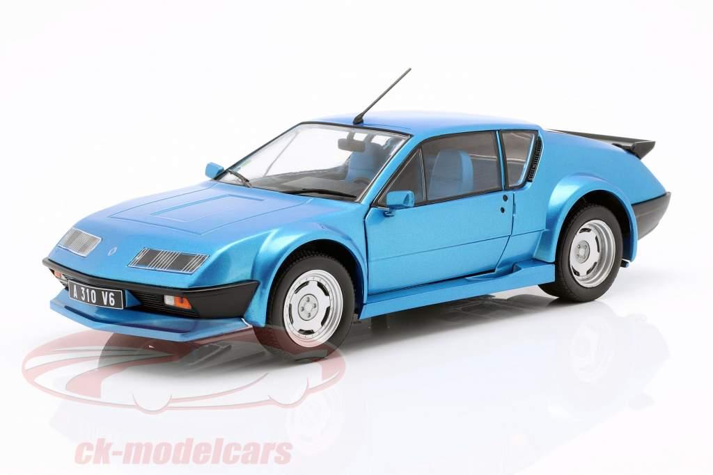 Alpine A310 Pack GT ano de construção 1983-85 azul metálico 1:18 Solido