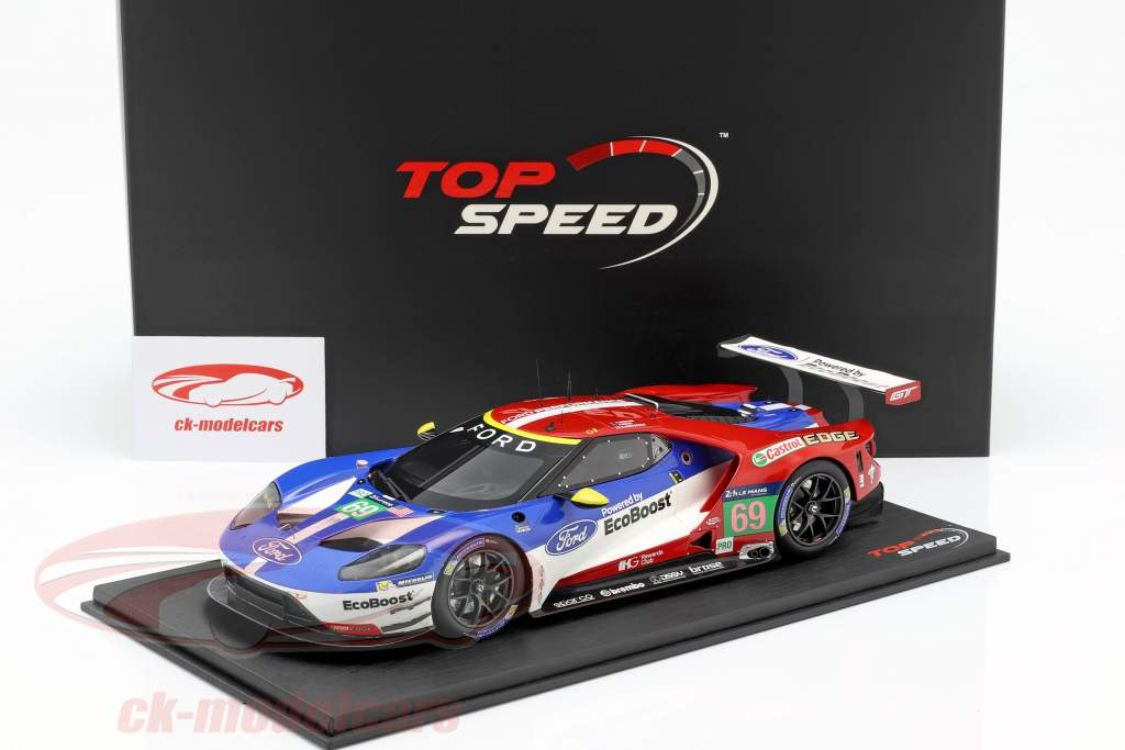Ford GT #69 3. LMGTE Pro 24h LeMans 2016 Briscoe, Westbrook, Dixon 1:18 TrueScale