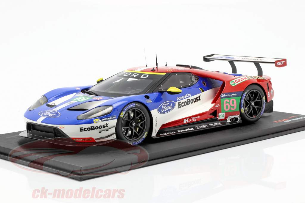 Ford GT #69 3rd LMGTE Pro 24h LeMans 2016 Briscoe, Westbrook, Dixon 1:18 TrueScale