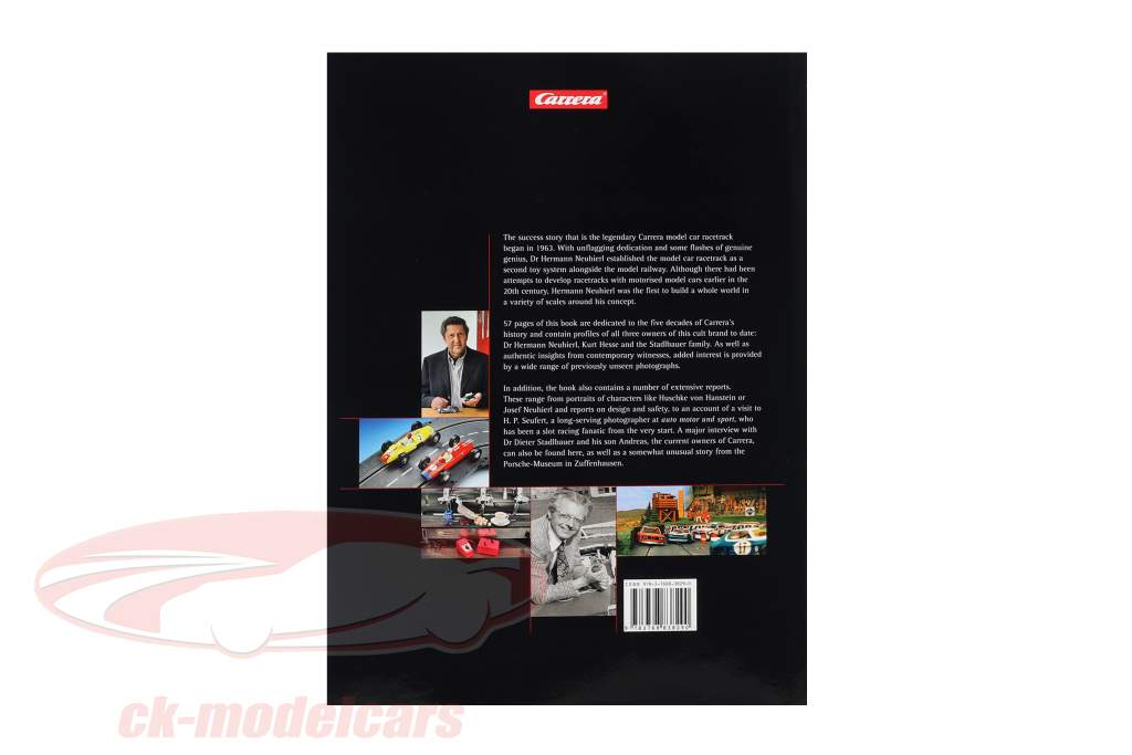 Buch: Carrera - 50 Years on Track / by Andreas A. Berse