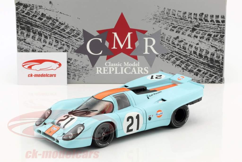 Porsche 917K #21 24h LeMans 1970 Rodriguez, Kinnunen 1:18 CMR