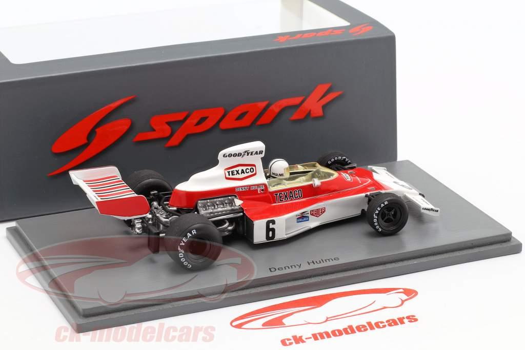 Denis Hulme McLaren M23 #6 Vinder Argentinian GP formel 1 1974 1:43 Spark