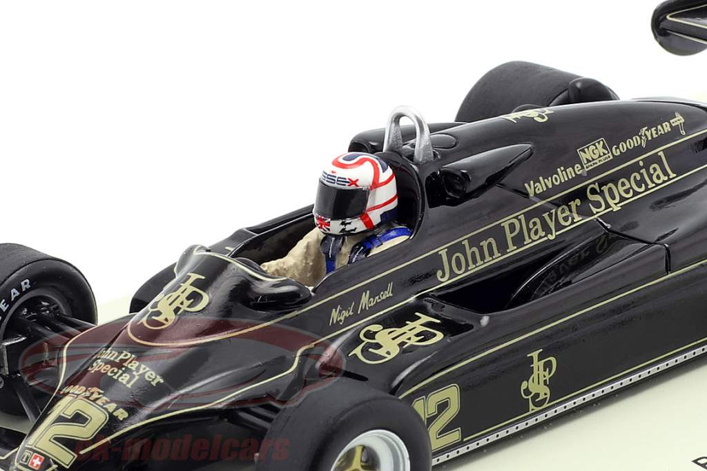 Nigel Mansell Lotus 91 #12 3 Brazil GP formule 1 1982 1:43 Spark