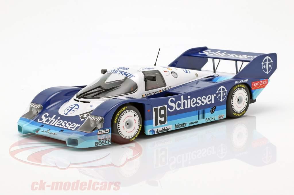 Porsche 956K #19 1000km Hockenheim 1985 Bellof, Boutsen 1:18 Minichamps