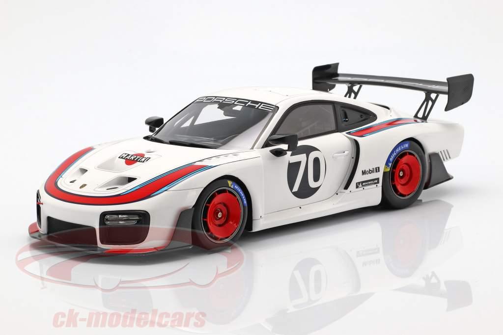 Porsche 935 #70 2018 basado en 911 (991 II) GT2 RS  con escaparate 1:18 Spark