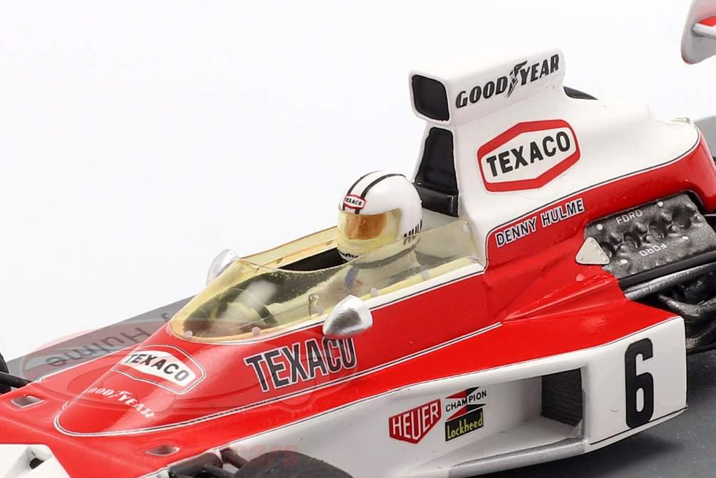 Denis Hulme McLaren M23 #6 vincitore Argentinian GP formula 1 1974 1:43 Spark