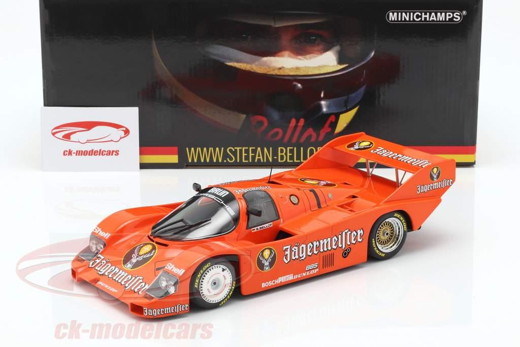 Porsche 956K Brun #1 3 ° 200 miglia Norisring 1984 Stefan Bellof 1:18 Minichamps