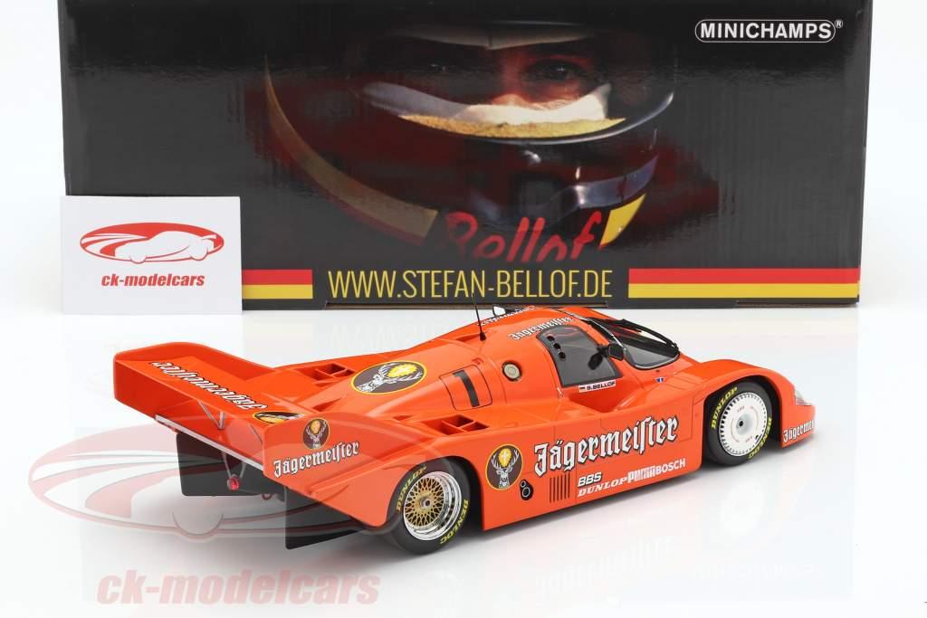 Porsche 956K Brun #1 3ª 200 milhas Norisring 1984 Stefan Bellof 1:18 Minichamps