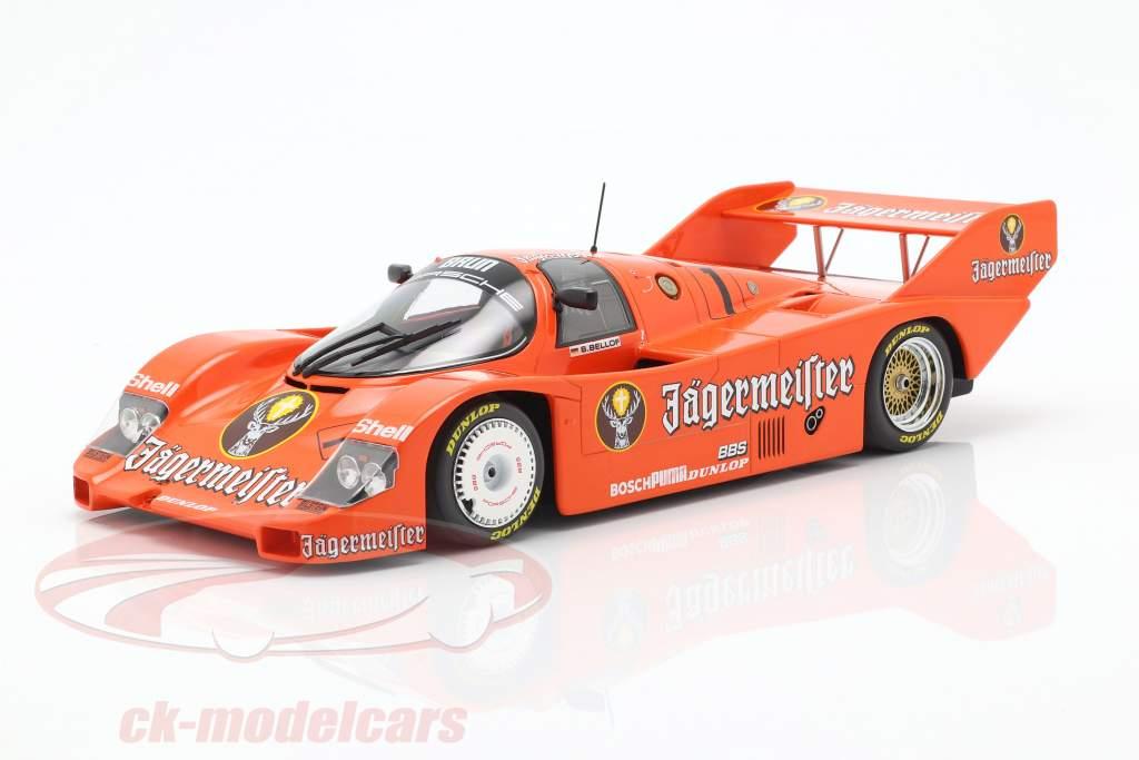 Porsche 956K Brun #1 tercero 200 millas Norisring 1984 Stefan Bellof 1:18 Minichamps