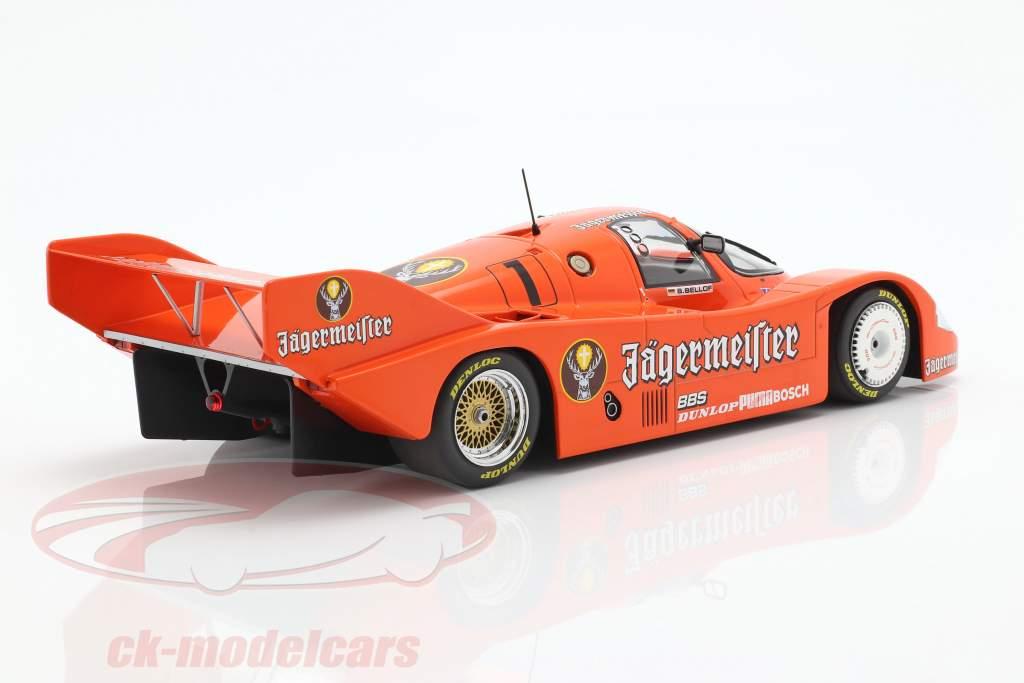 Porsche 956K Brun #1 3. 200 miles Norisring 1984 Stefan Bellof 1:18 Minichamps