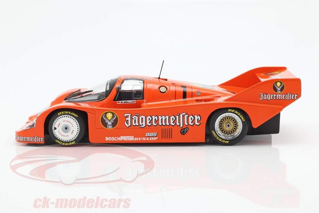 Porsche 956K Brun #1 3rd 200 Meilen Norisring 1984 Stefan Bellof 1:18 Minichamps