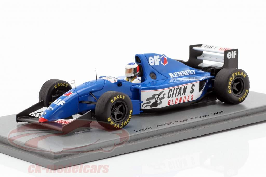 Michael Schumacher Ligier JS39B test Estoril formule 1 1994 1:43 Spark