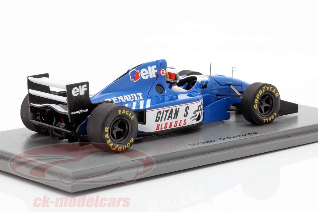 Michael Schumacher Ligier JS39B teste Estoril fórmula 1 1994 1:43 Spark