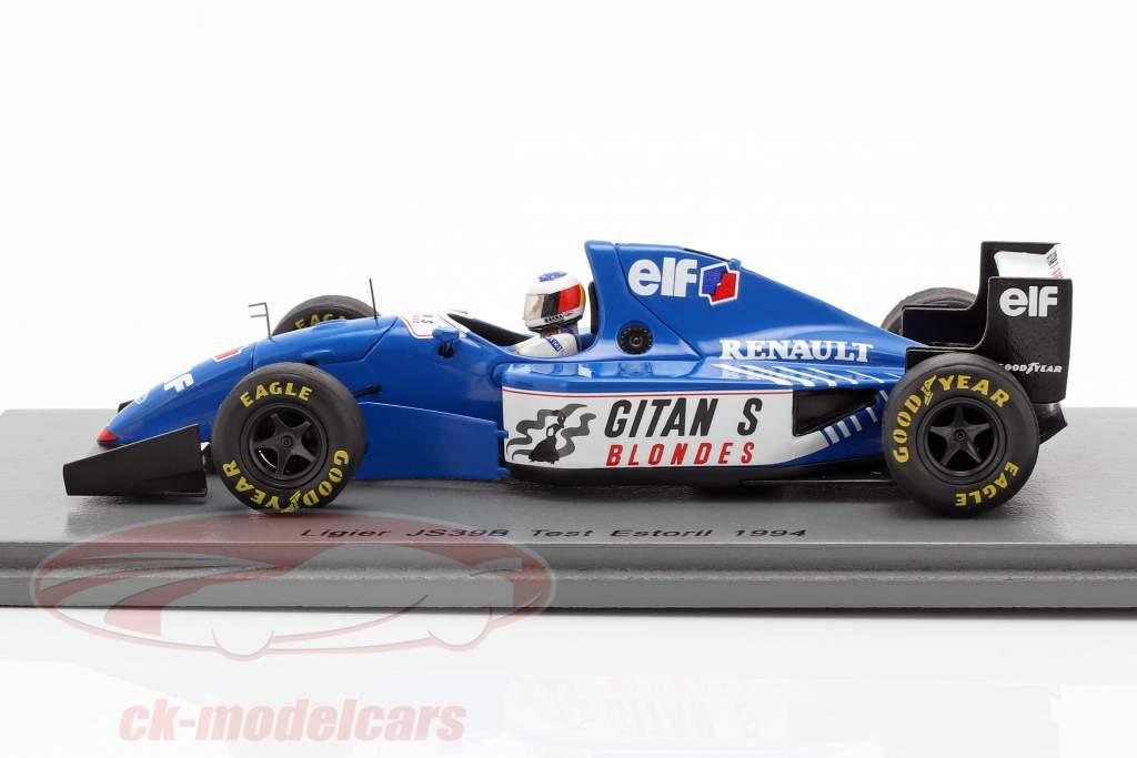 Michael Schumacher Ligier JS39B prova Estoril formula 1 1994 1:43 Spark