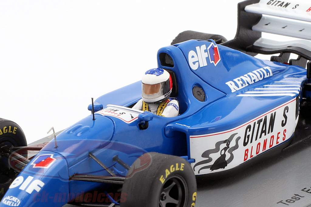 Michael Schumacher Ligier JS39B prøve Estoril formel 1 1994 1:43 Spark
