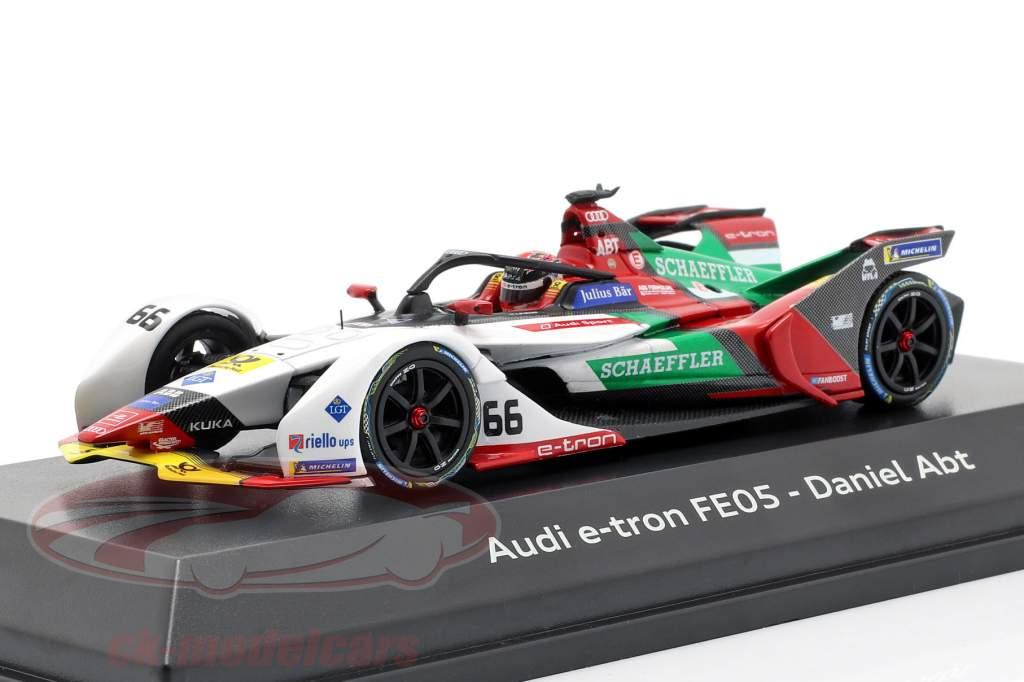 Daniel Abt Audi e-tron FE05 #66 formule E 2018/19 1:43 Minichamps