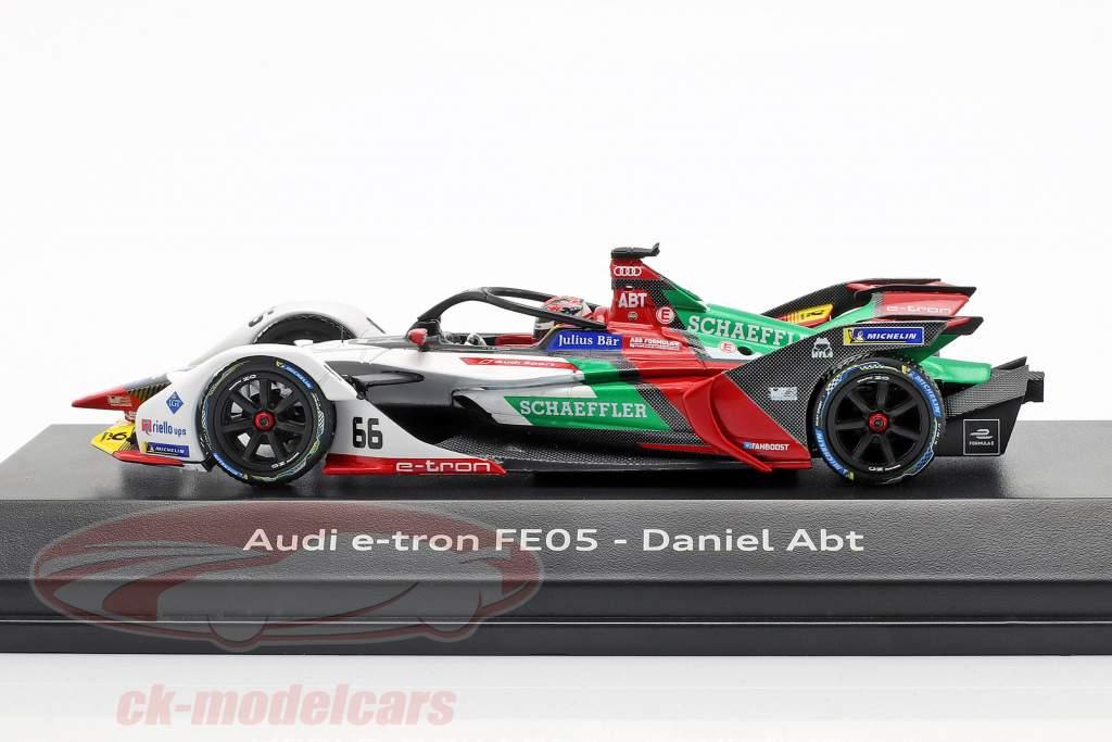 Daniel Abt Audi e-tron FE05 #66 fórmula E 2018/19 1:43 Minichamps