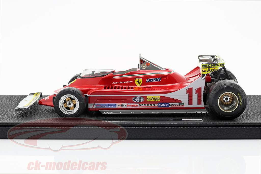 J. Scheckter Ferrari 312T4 kort spoiler #11 wereldkampioen GP F1 1979 1:18 GP Replicas