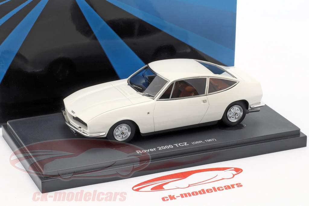 Rover 2000 TCZ Bouwjaar 1967 wit 1:43 AutoCult