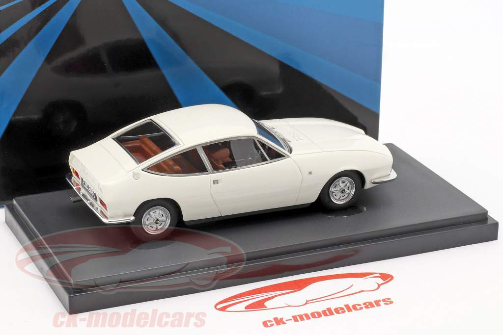 Rover 2000 TCZ ano de construção 1967 branco 1:43 AutoCult
