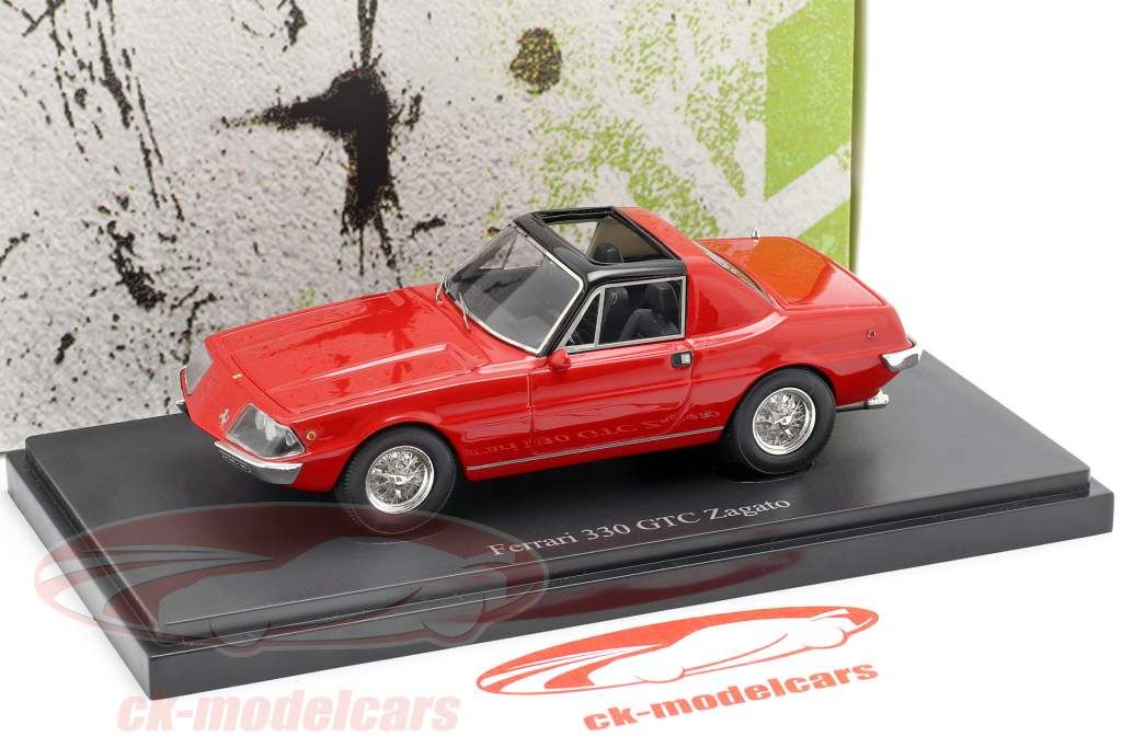 Ferrari 330 GTC Zagato ano de construção 1974 vermelho 1:43 AutoCult