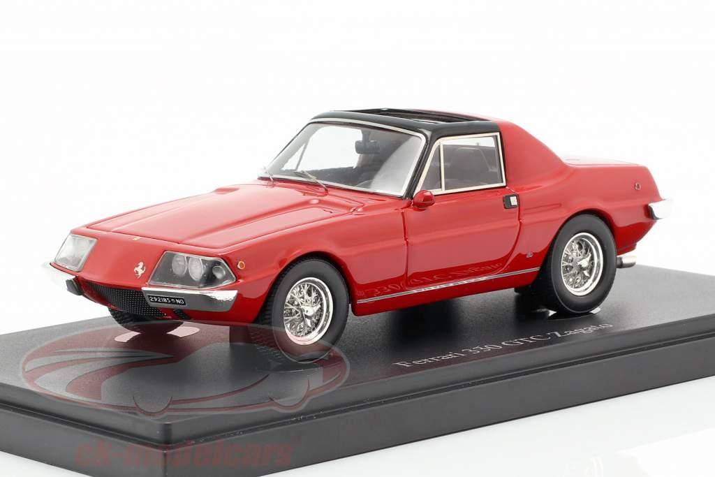 Ferrari 330 GTC Zagato année de construction 1974 rouge 1:43 AutoCult