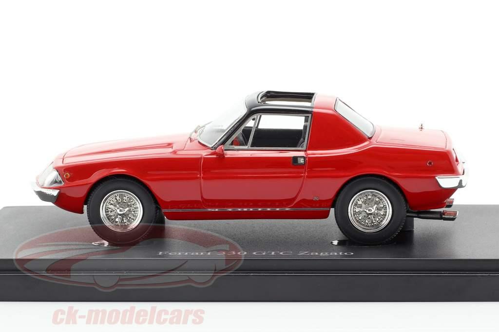 Ferrari 330 GTC Zagato anno di costruzione 1974 rosso 1:43 AutoCult