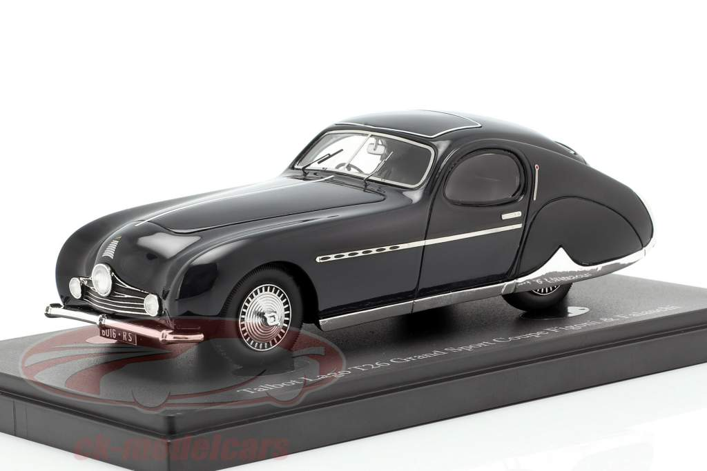 Talbot Lago T26 Grand Sport Coupe année de construction 1949 bleu foncé 1:43 AutoCult