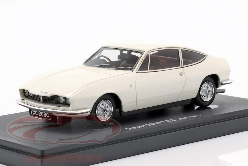 Rover 2000 TCZ año de construcción 1967 blanco 1:43 AutoCult