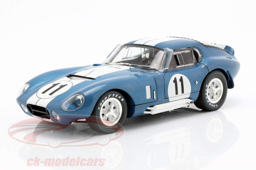 Shelby Cobra Daytona Coupe #11 24h LeMans 1965 Sears, Thompson 1:18 CMR