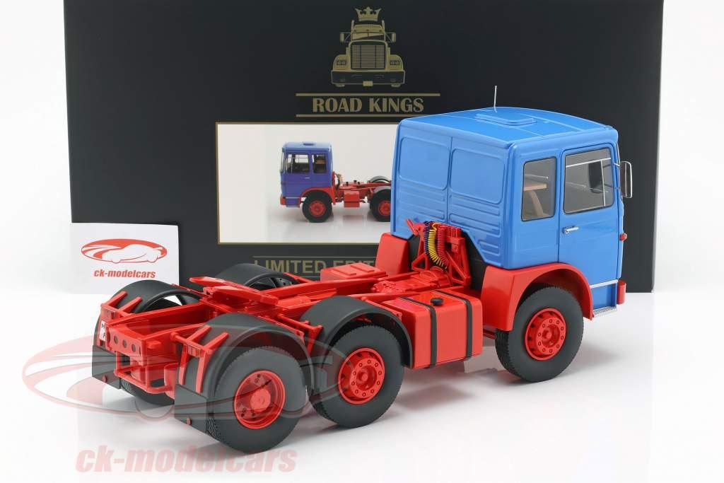 MAN F7 16.304 1972-1:18 ROAD KINGS LKW Orient Transporte rot//schwarz