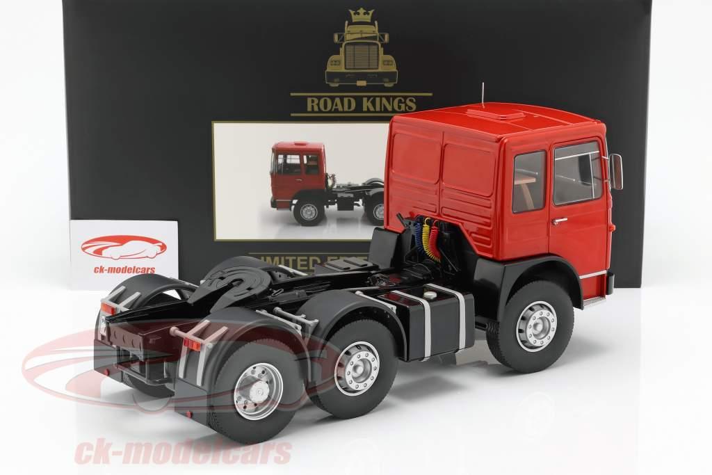 M.A.N. 16304 (F7) Sattelzugmaschine Baujahr 1972 rot / schwarz 1:18 Road Kings