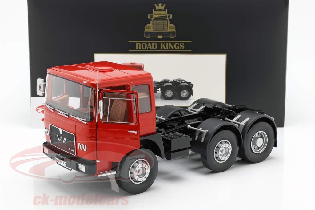 M.A.N. 16304 (F7) tracteur année de construction 1972 rouge / noir 1:18 Road Kings