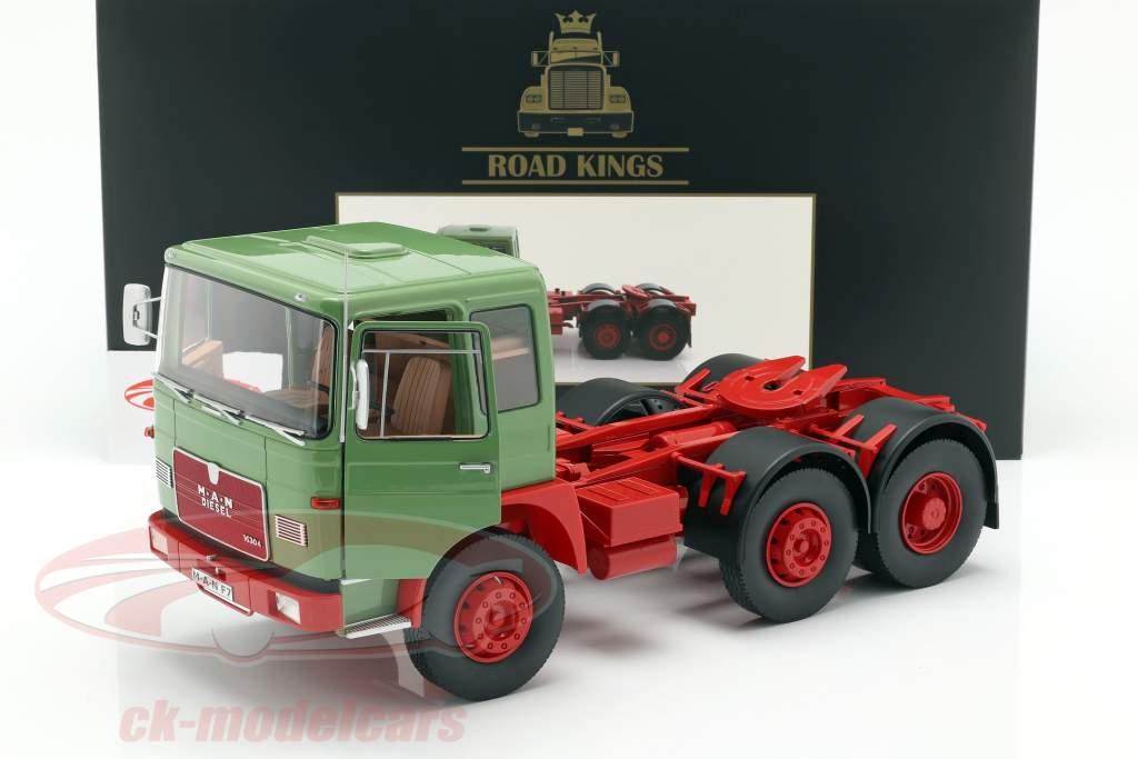 M.A.N. 16304 (F7) tracteur année de construction 1972 vert / rouge 1:18 Road Kings
