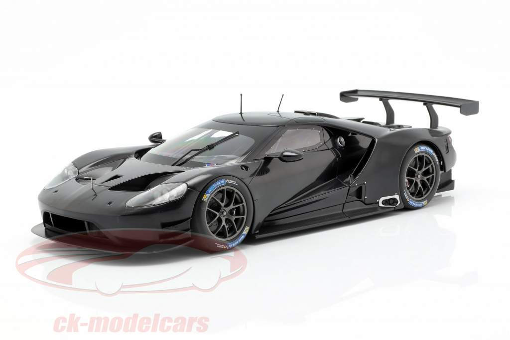Ford GT Testcar 2016 nero 1:18 Minichamps