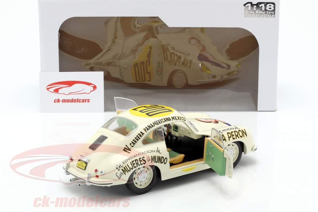 Porsche 356 Pre-A #200 Carrera Panamericana 1953 Jacqueline Evans 1:18 Solido