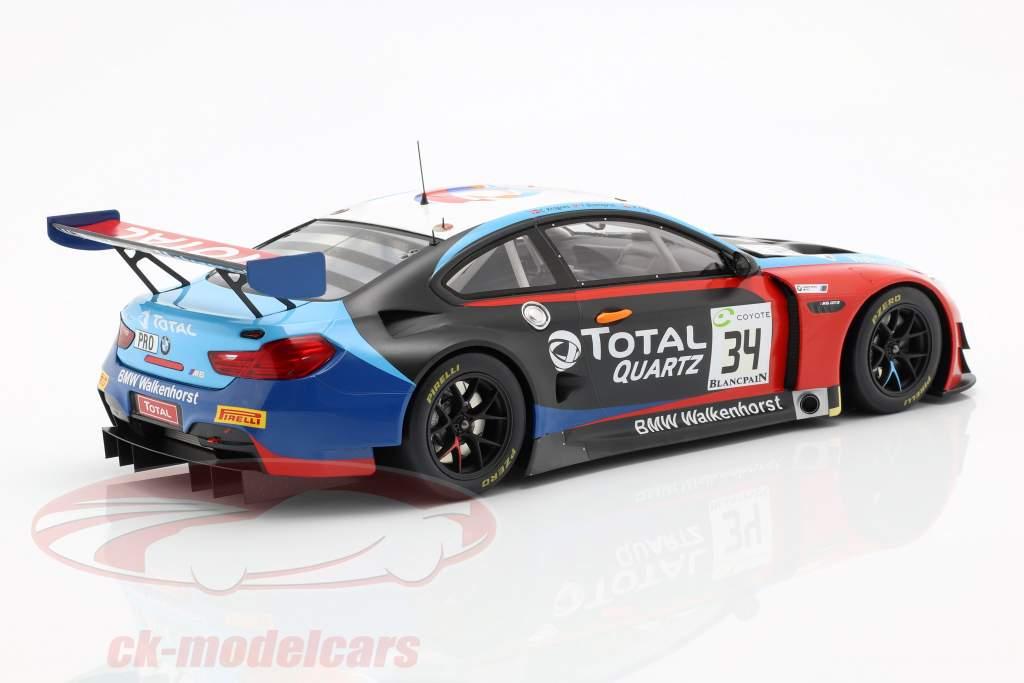 BMW M6 GT3 #34 gagnant 24h Spa 2018 Blomqvist, Eng, Krognes 1:18 Spark