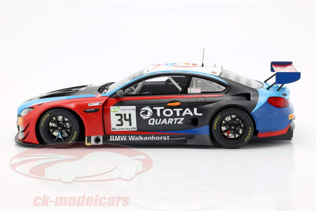 BMW M6 GT3 #34 vincitore 24h Spa 2018 Blomqvist, Eng, Krognes 1:18 Spark